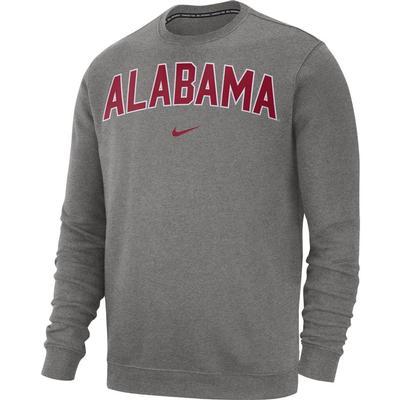 Alabama Nike Fleece Club Crew Sweater