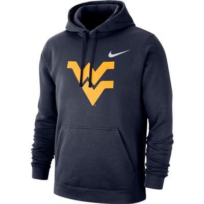 West Virginia Nike Fleece Club Pullover Hoodie
