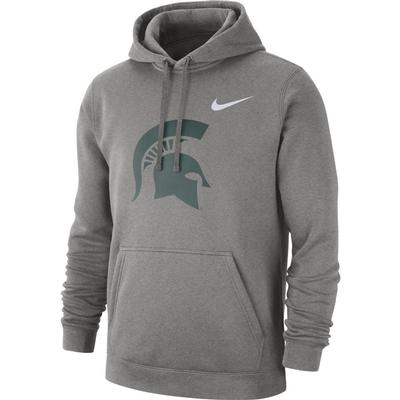 Michigan State Nike Fleece Club Pullover Hoodie