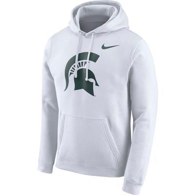 Michigan State Nike Fleece Club Pullover Hoodie
