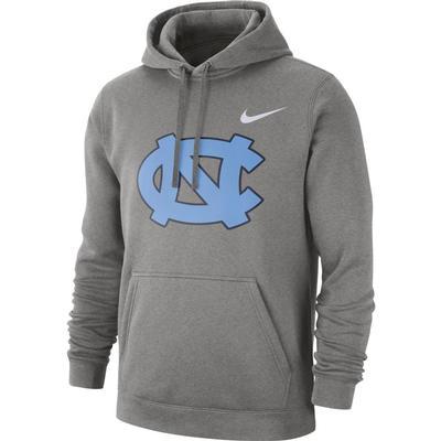 UNC Nike Fleece Club Pullover Hoodie