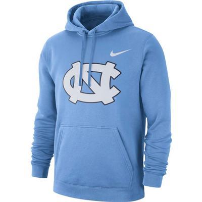 UNC Nike Fleece Club Pullover Hoodie VALOR_BLUE