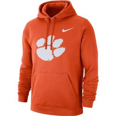 Clemson Nike Fleece Club Pullover Hoodie