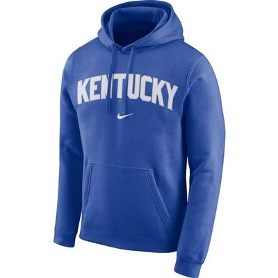 Kentucky Nike Fleece Club Pullover Hoodie