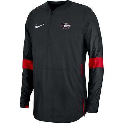 Georgia Nike Light Weight Coaches Jacket