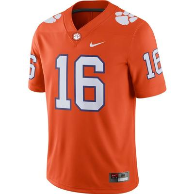 Clemson Nike #16 Home Jersey