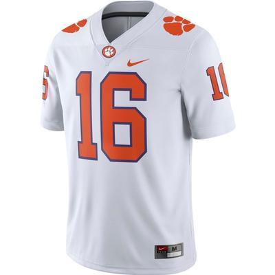 Clemson Nike #16 Away Jersey