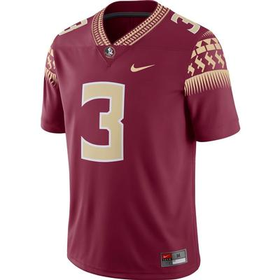 Florida State Nike #3 Home Jersey