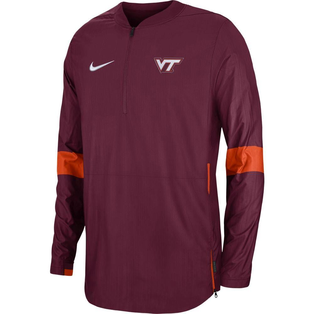 Virginia Tech Nike Light Weight Coaches Jacket