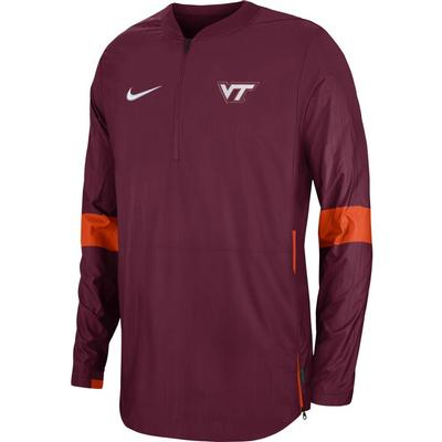 Virginia Tech Nike Light Weight Coaches Jacket