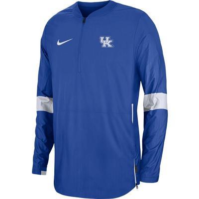 Kentucky Nike Light Weight Coaches Jacket ROYAL