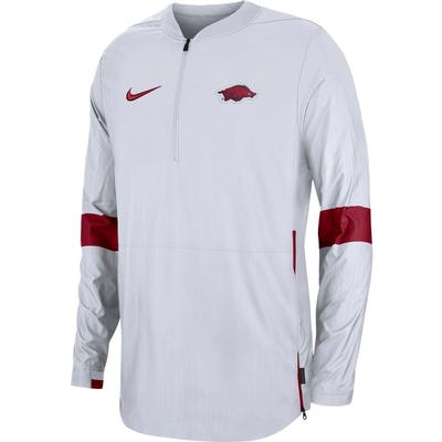 Arkansas Nike Light Weight Coaches Jacket