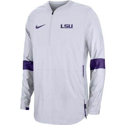 LSU Nike Light Weight Coaches Jacket