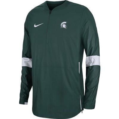 Michigan State Nike Light Weight Coaches Jacket