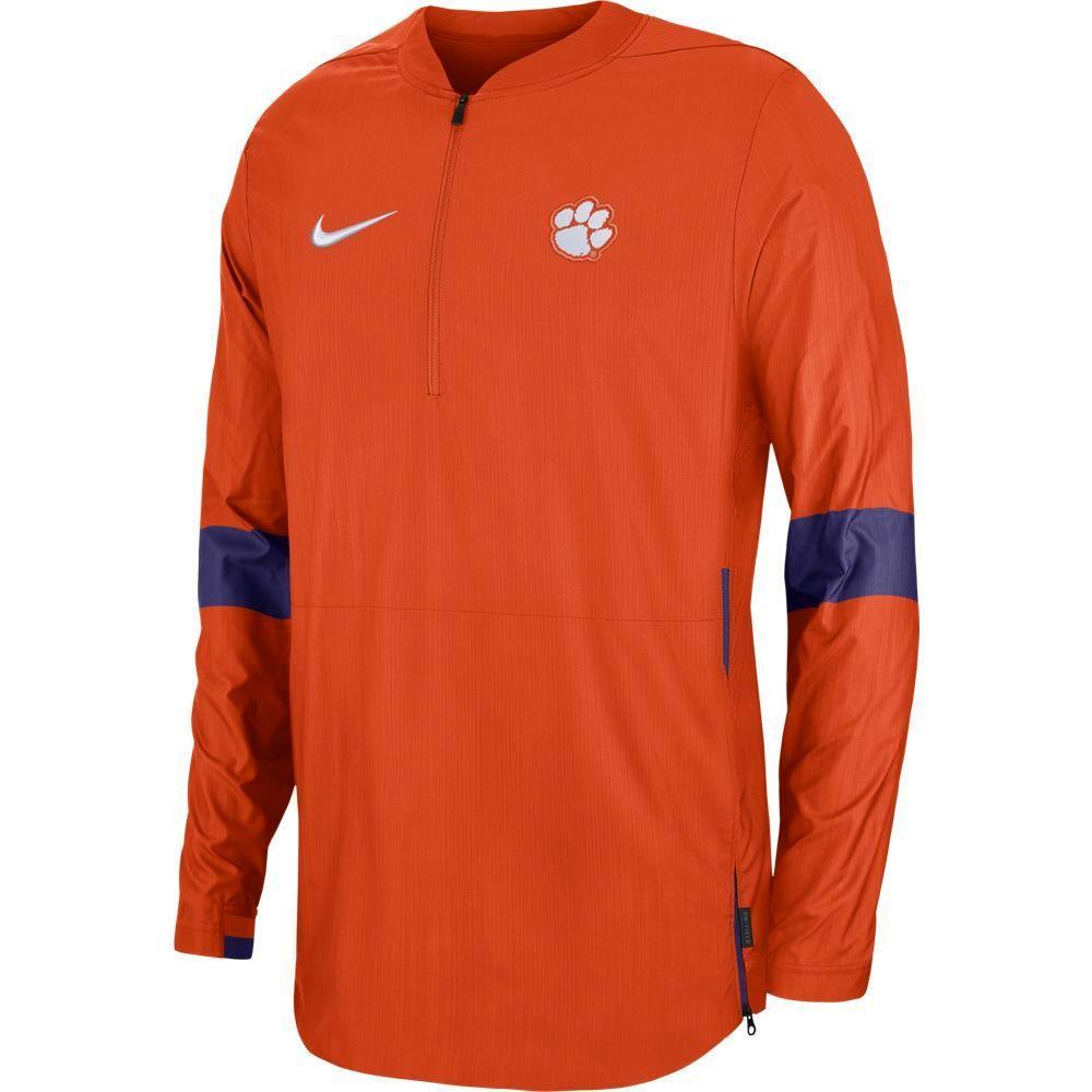 Clemson Nike Light Weight Coaches Jacket