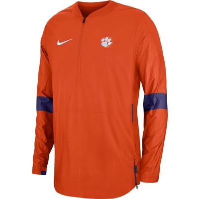 Clemson Nike Light Weight Coaches Jacket