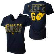 West Virginia Women's Ultimate Fan Tee Shirt