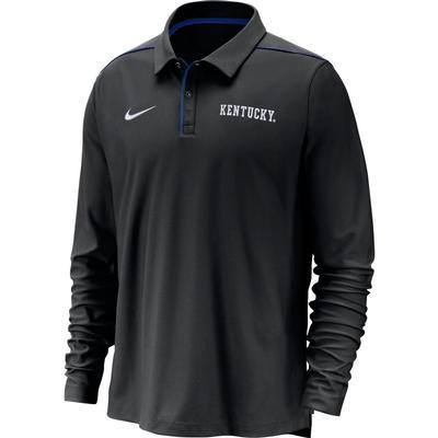 Kentucky Nike Dri-FIT Long Sleeve Polo