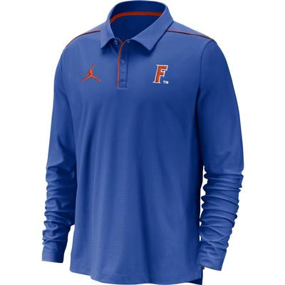 Florida Jordan Brand Dri-FIT Long Sleeve Polo