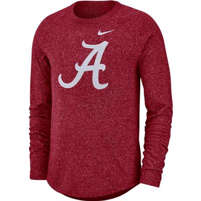 Alabama Nike Marled Long Sleeve Tee