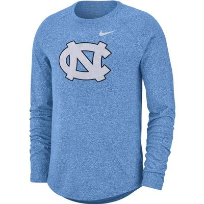 North Carolina Nike Marled Long Sleeve Tee