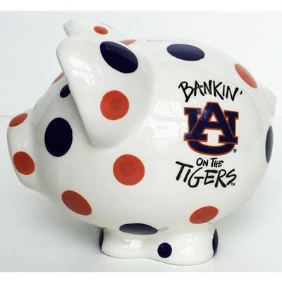 Auburn Piggy Bank