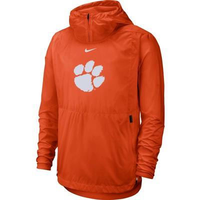 Clemson Nike Repel Lightweight Player Jacket ORANGE