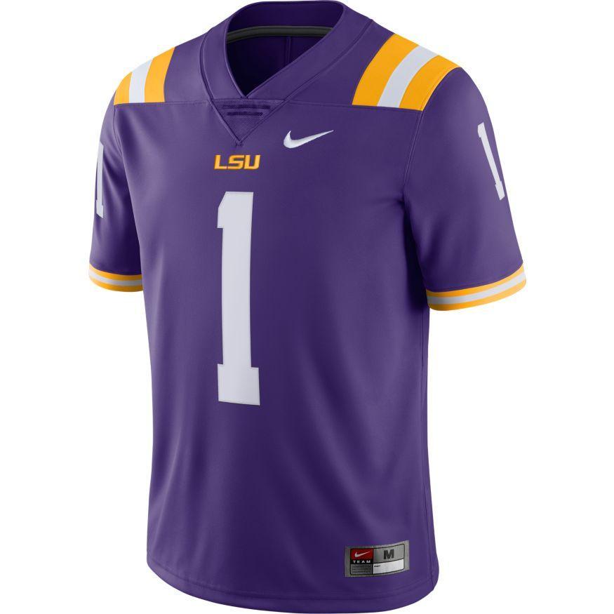 Lsu Nike Limited # 9 Alternate Jersey