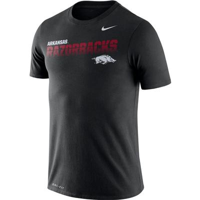 Arkansas Nike Legend Sideline Short Sleeve Shirt