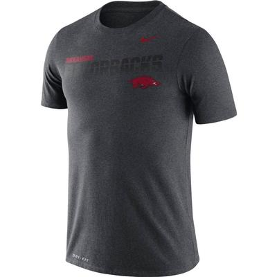 Arkansas Nike Legend Sideline Short Sleeve Shirt