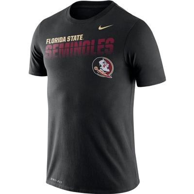 Florida State Nike Legend Sideline Short Sleeve Shirt