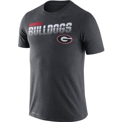 Georgia Nike Legend Sideline Short Sleeve Shirt