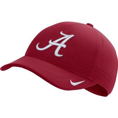 Alabama Nike Aero C99 Sideline Swoosh Flex Hat