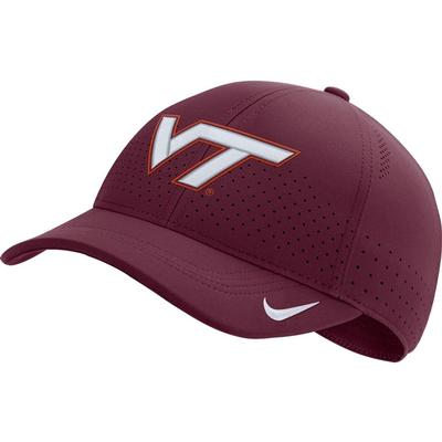 Virginia Tech Nike Aero C99 Sideline Swoosh Flex Hat