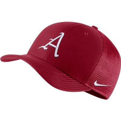 Arkansas Nike Aero C99 Sideline Swoosh Flex Hat