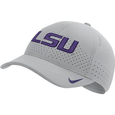 LSU Nike Aero C99 Sideline Swoosh Flex Hat
