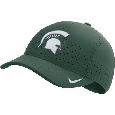 Michigan State Nike Aero C99 Sideline Swoosh Flex Hat
