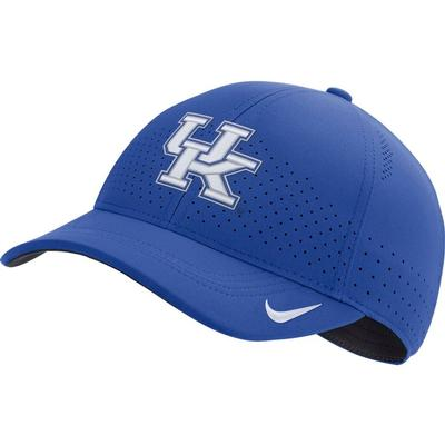 Kentucky Nike Aero L91 Sideline Adjustable Hat