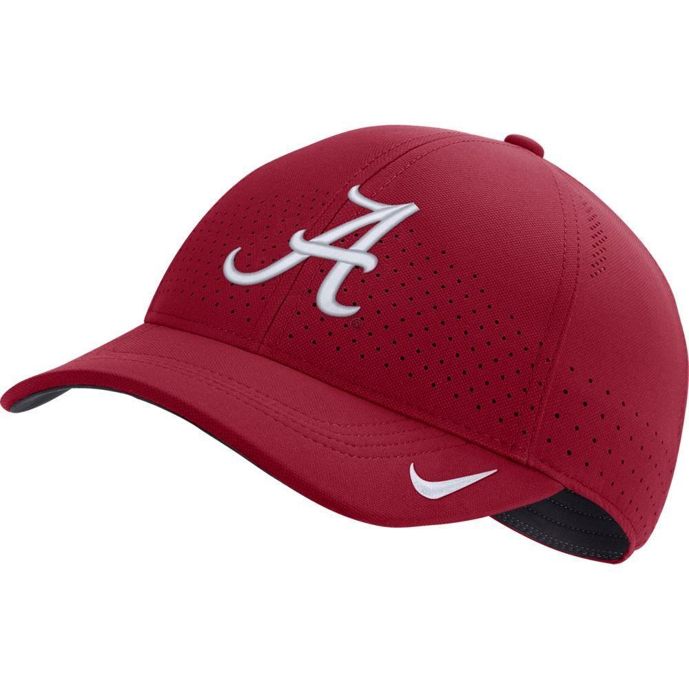 Alabama Nike Aero L91 Sideline Adjustable Hat