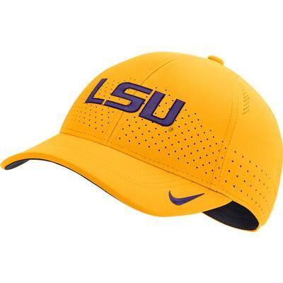 LSU Nike Aero L91 Sideline Adjustable Hat
