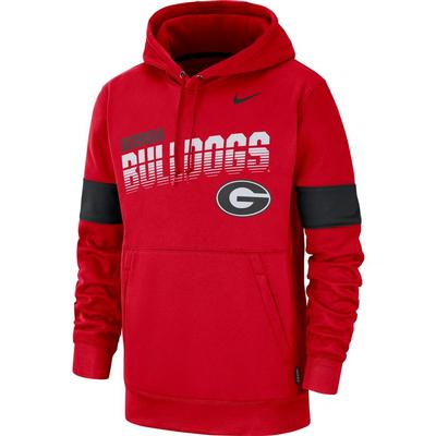 Georgia Nike Therma-FIT Fleece Hoodie