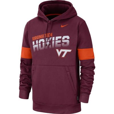 Virginia Tech Nike Therma-FIT Fleece Hoodie