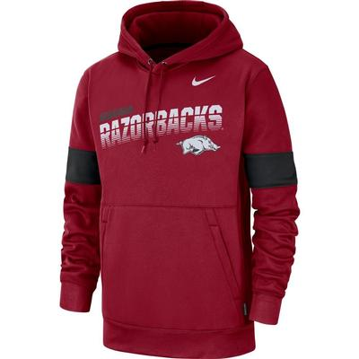 Arkansas Nike Therma-FIT Fleece Hoodie