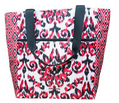 Red & Black Piper Layne India Tote