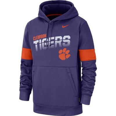 Clemson Nike Therma-FIT Fleece Hoodie