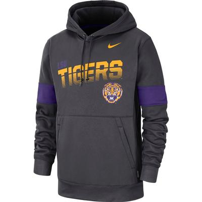LSU Nike Therma-FIT Fleece Hoodie