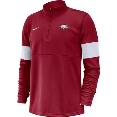 Arkansas Nike Therma-FIT Half Zip Pullover