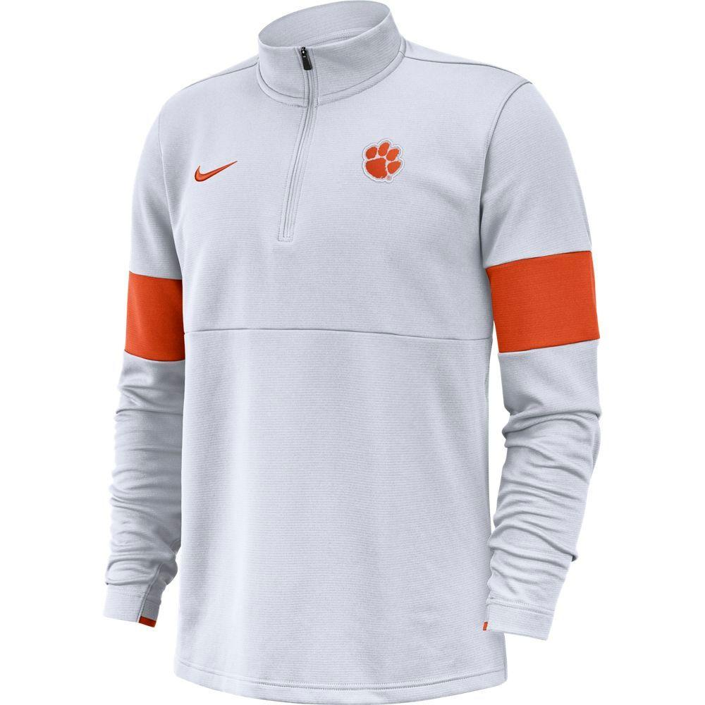Clemson Nike Therma- Fit Half Zip Pullover