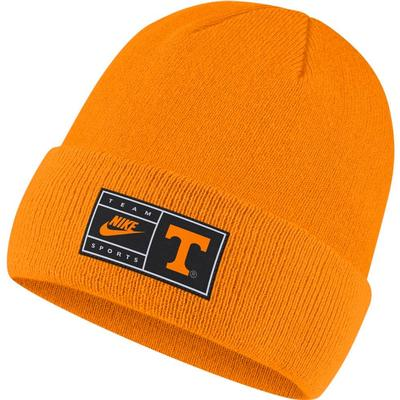 Tennessee Nike Throwback Label Cuff Beanie