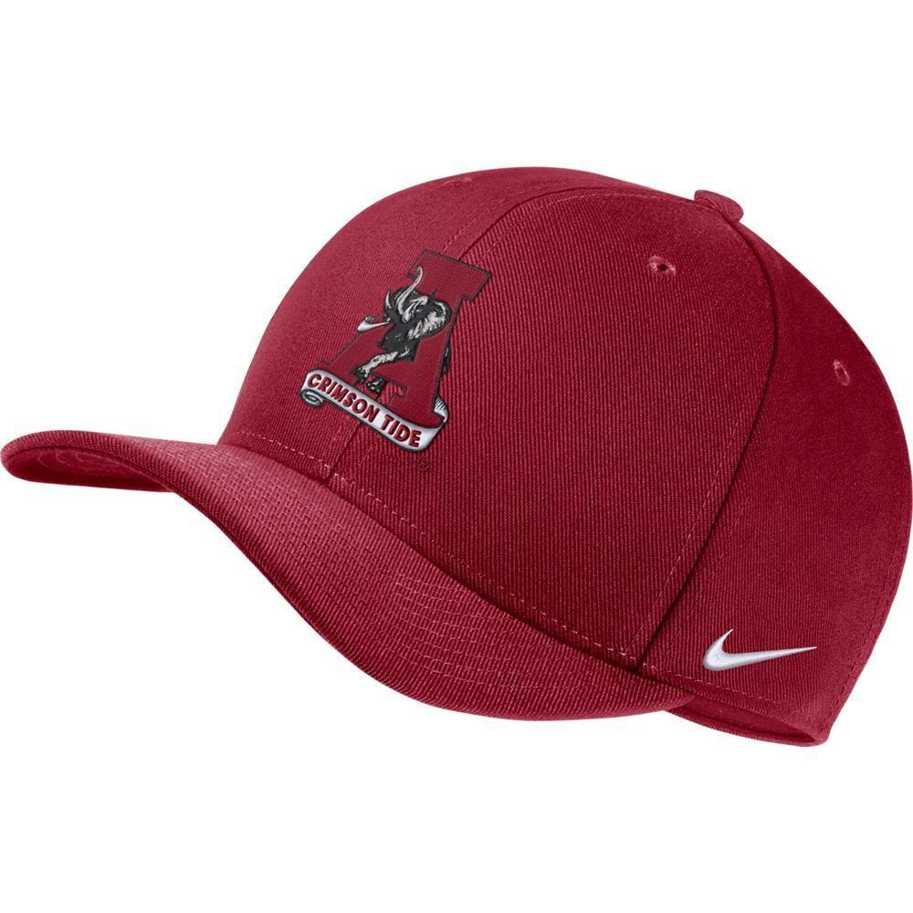 Alabama Nike Dri- Fit Vault Logo Swooshflex C99 Cap